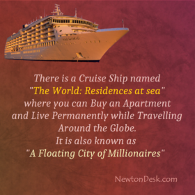 Cruise Ship The World: A Floating City of Millionaires