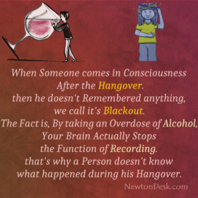Memory Blackout By Taking Overdose of Alcohol