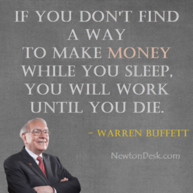 Make Money While You Sleep By Warren Buffett