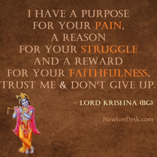 I Have A Purpose For Your Pain Struggle & Faith