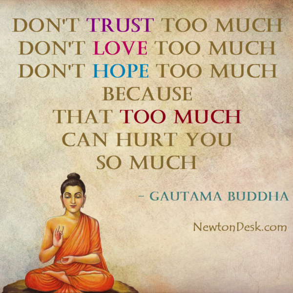 Don't Do Too Much Love Trust & Hope