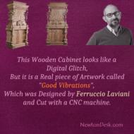 Wooden Cabinet Called Good Vibrations Designed By Ferruccio Laviani