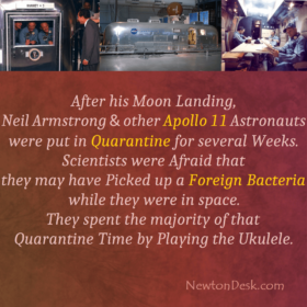 Neil Armstrong And Other Apollo 11 Astronauts Were Put In Quarantine
