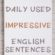 Daily Use English Sentences That Impress Others