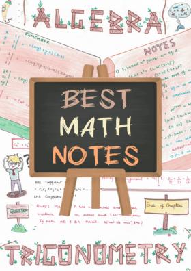 Math (Mathematics) Handwritten Cute Creative Notes PDF