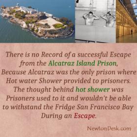 Given Hot Shower To Prevent Escape From The Alcatraz Island Prison