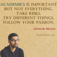 Academics Is Important But Not Everything