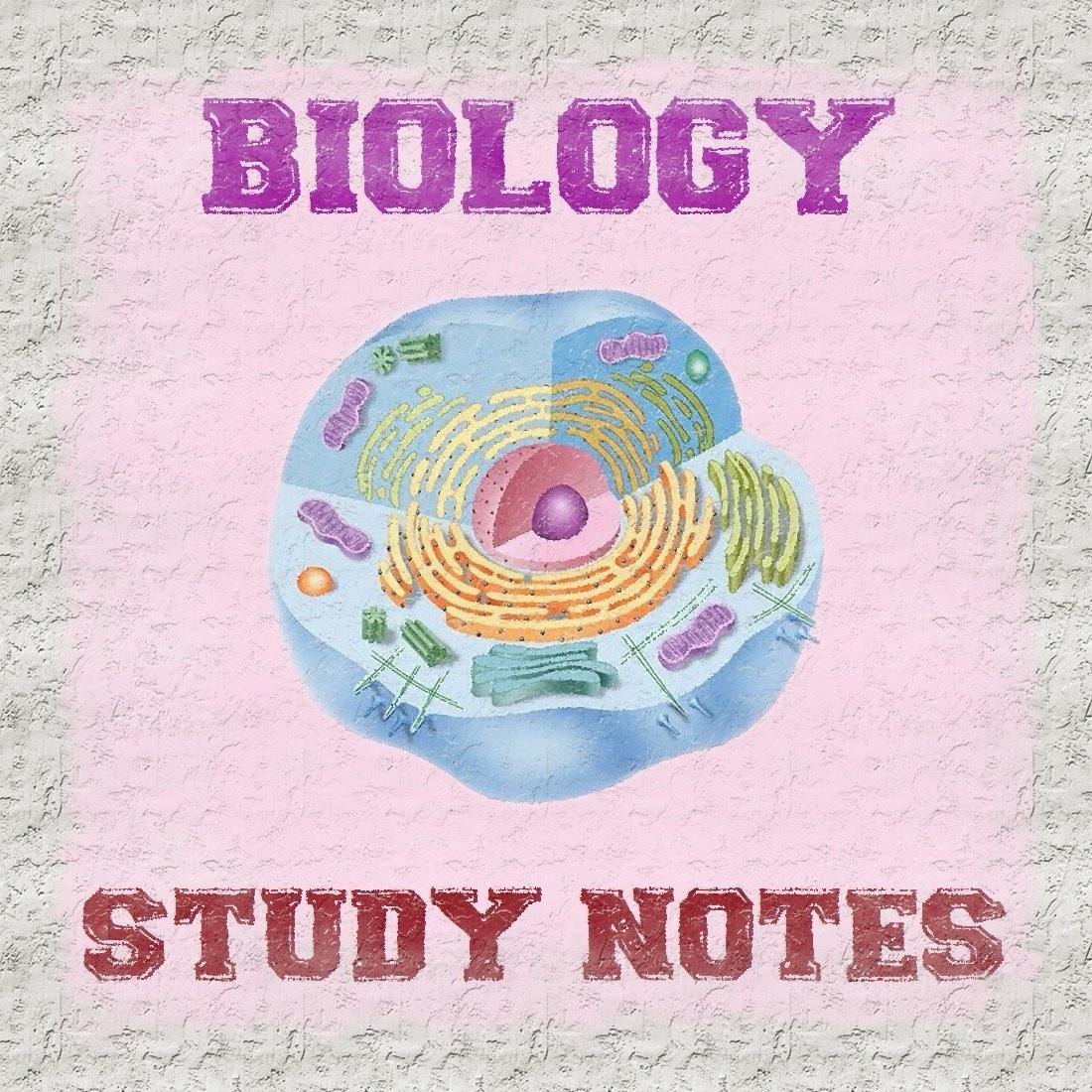 Biology Study Notes pdf