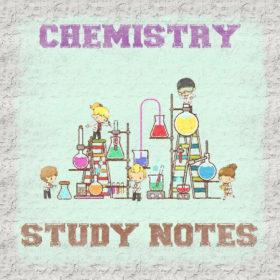 Chemistry Study Notes (Handwritten) Free PDF