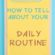 How To Tell About Your Daily Routine in English