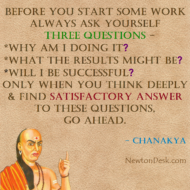 Before Start Any Work Always Ask Yourself 3 Success Questions