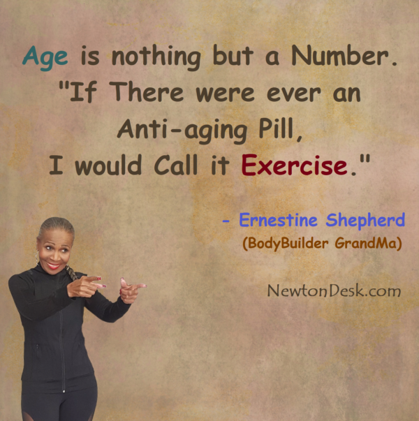 Age Is Nothing But A Number, Exercise Is The Anti-aging Pill