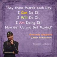 I Can Do It, I Will Dot It, I Am Doing It!