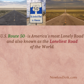 U.S. Route 50 – Is The Loneliest Road In America