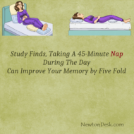 Taking A 45-Minute Nap In Afternoon Improve Your memory By Five Fold