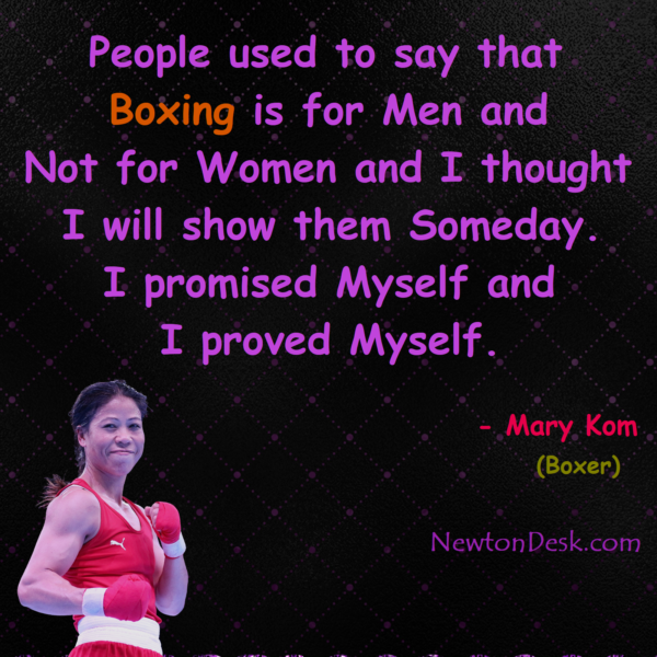 People Said boxing Is For Men And Not For Women