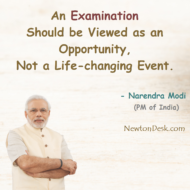 Examination Should Be Viewed As An Opportunity