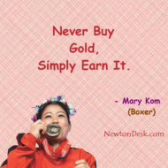 Never Buy Gold, Simply Earn It