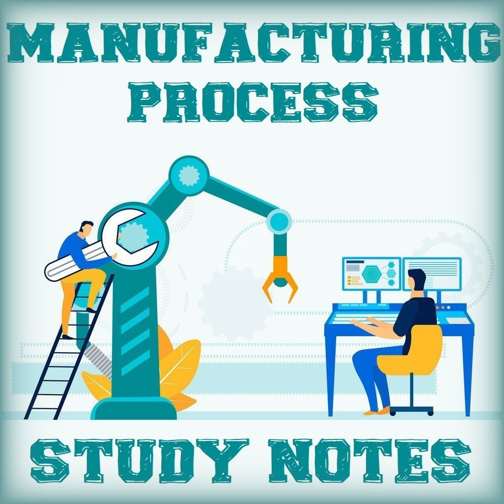 Manufacturing Process Study Notes Handwritten Free Pdf