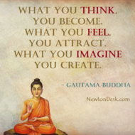 What You Think, Feel & Imagine, You Become, Attract & Create