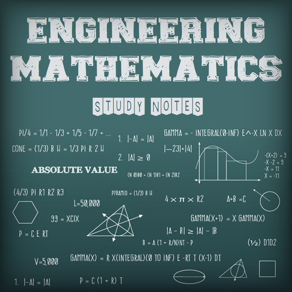 engineering mathematics mathndwritten study notes