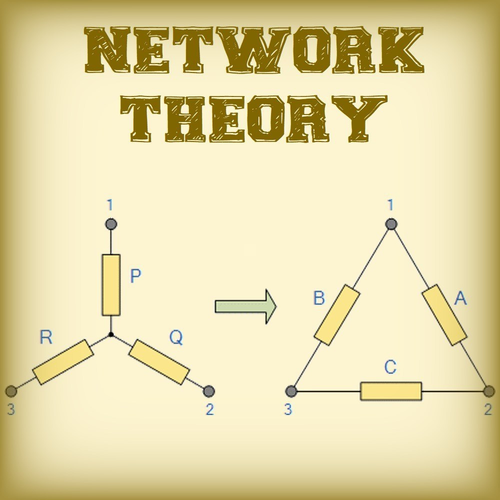 network theory lecture & handwritten study notes
