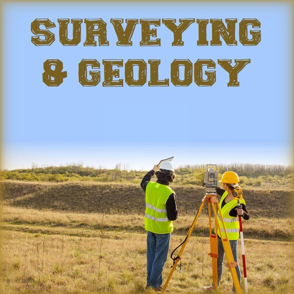 Surveying & Geology handwritten study notes