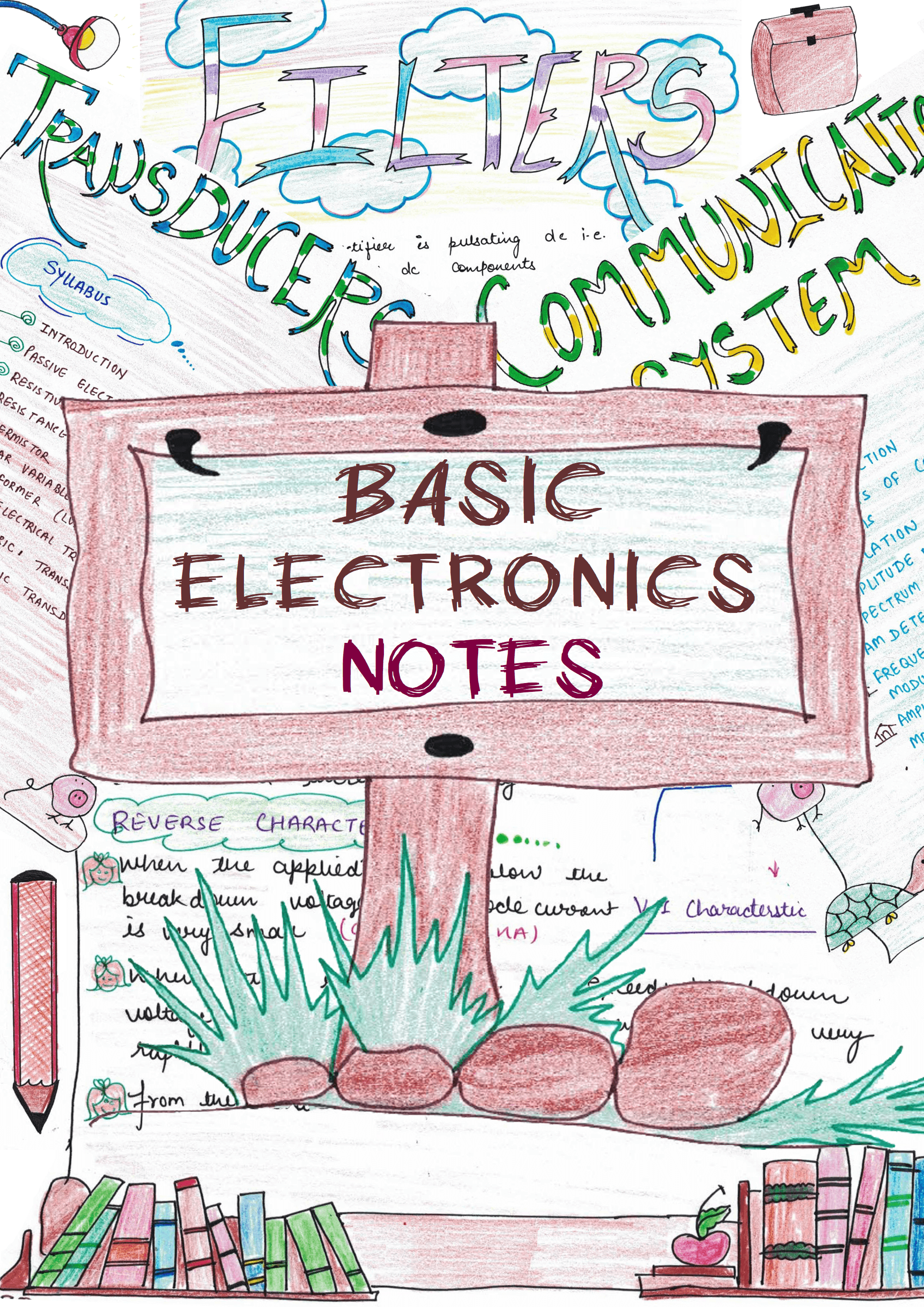basic electronics handwritten notes pdf for gate & ies