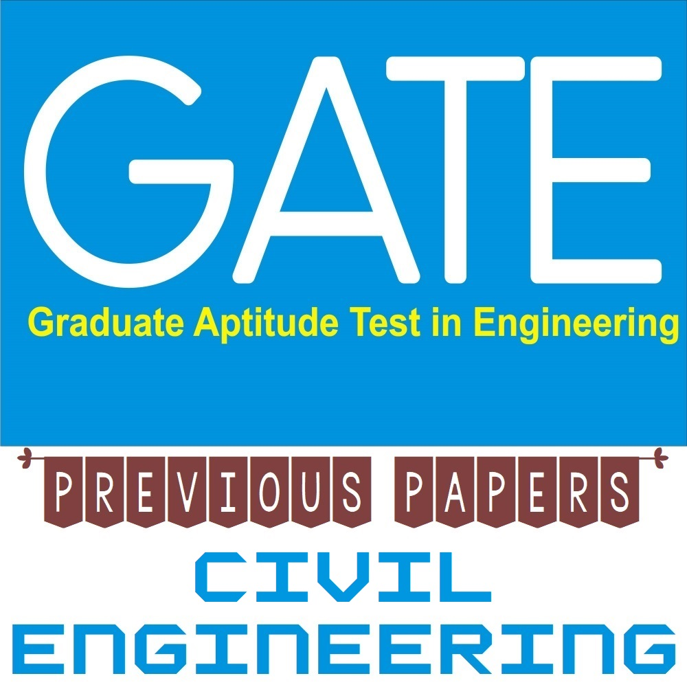 gate exam previous year papers for civil engineering