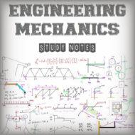 Engineering Mechanics Study Notes (Handwritten)