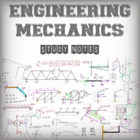 Engineering Mechanics Study Notes (Handwritten)