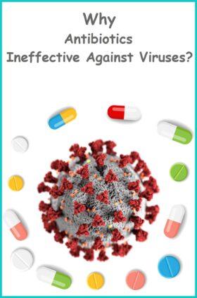 Why Antibiotics Are Ineffective Against Viruses?