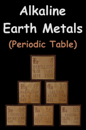Alkaline Earth Metals On The Periodic Table