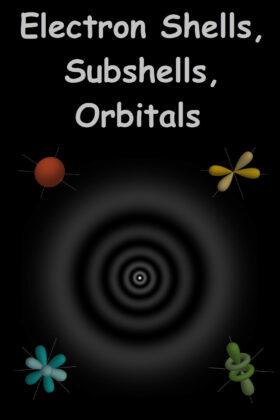 Electron Shells, SubShells, and Orbitals